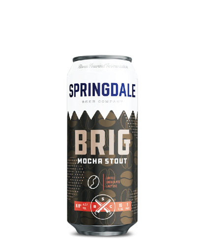 Brig Mocha Stout - Springdale Beer Co Delivered By TapRm
