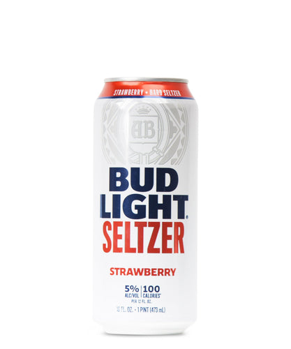 Bud Light Seltzer Strawberry - Budweiser Delivered By TapRm