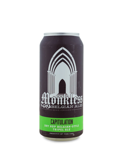 Capitulation Belgian Dry Hop Tripel - Monkless Belgian Ales Delivered By TapRm