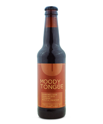 Caramelized Chocolate Churro Baltic Porter - Moody Tongue Brewing Company Delivered By TapRm