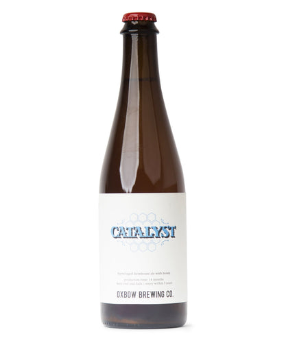 Catalyst - Oxbow Brewing Company Delivered By TapRm