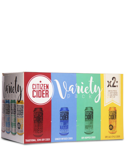 Citizen Cider Variety Pack - Citizen Cider Delivered By TapRm