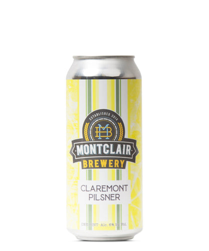 Claremont Pilsner - Montclair Brewery Delivered By TapRm