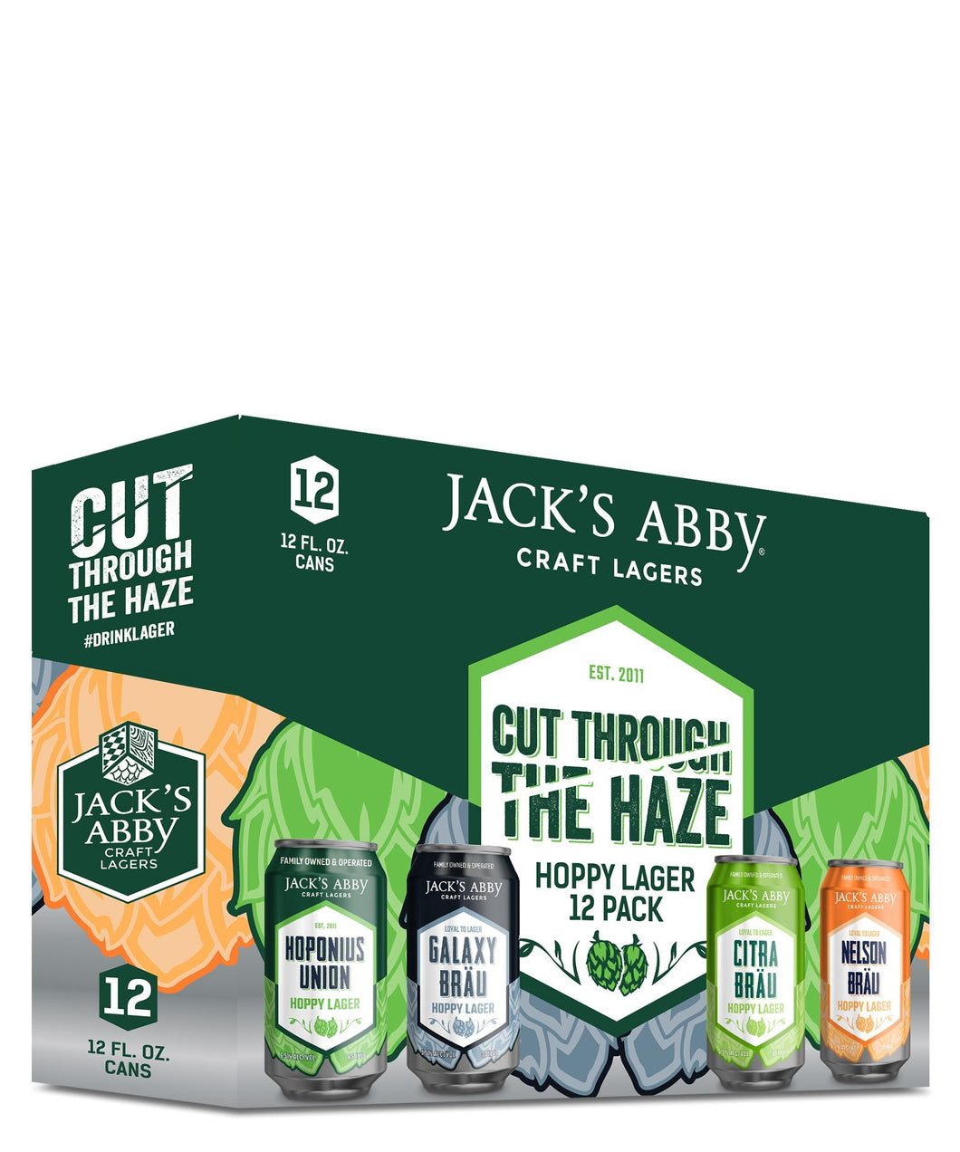 Cut Through the Haze - Jacks Abby Craft Lagers Delivered By TapRm