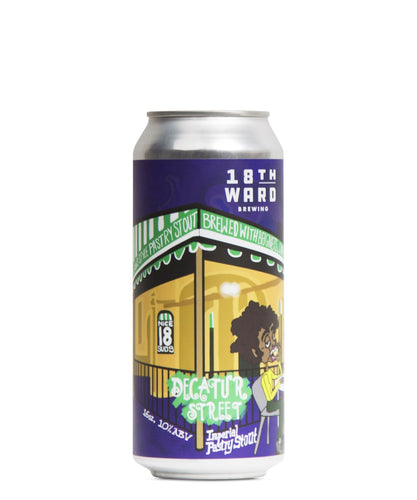 Decatur Street Pastry Stout - 18th Ward Brewing Delivered By TapRm