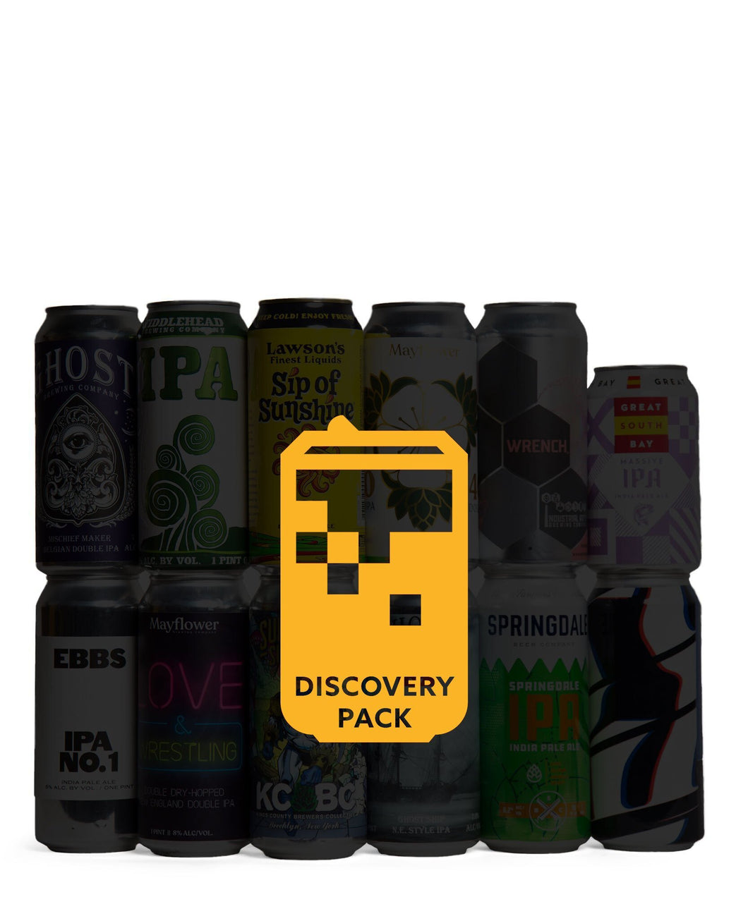 Discovery Variety 12 Pack - TapRm Delivered By TapRm