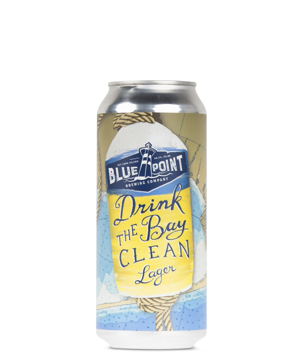 Drink the Bay Clean - Blue Point Brewing Delivered By TapRm