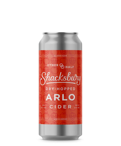 Dry-Hopped Arlo - Shacksbury Farmhouse Cider Delivered By TapRm