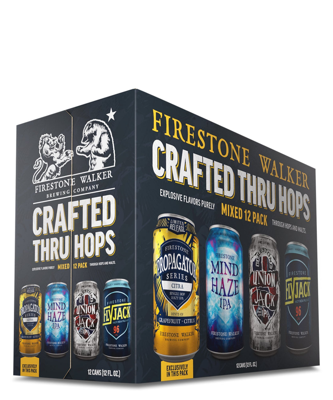 Firestone Walker Mixed 12 Pack - Firestone Walker Brewing Company Delivered By TapRm