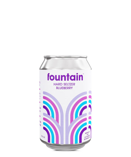 Fountain Hard Seltzer Blueberry - Fountain Delivered By TapRm