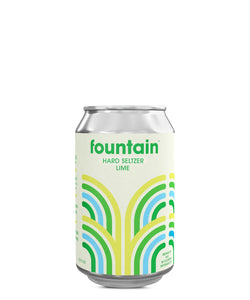 Fountain Hard Seltzer Lime - Fountain Delivered By TapRm