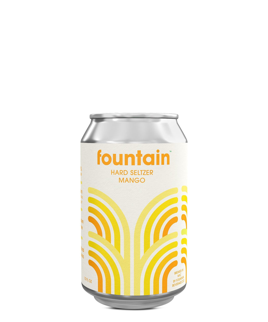 Fountain Hard Seltzer Mango - Fountain Delivered By TapRm