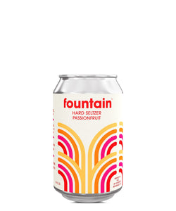 Fountain Hard Seltzer Passionfruit - Fountain Delivered By TapRm