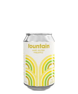 Fountain Hard Seltzer Pineapple - Fountain Delivered By TapRm