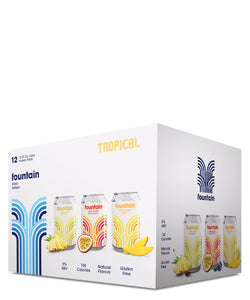 Fountain Hard Seltzer Tropical Mixed 12 Pack - Fountain Delivered By TapRm