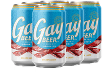 Load image into Gallery viewer, Gay Beer Golden Lager - Loyal Brands Delivered By TapRm