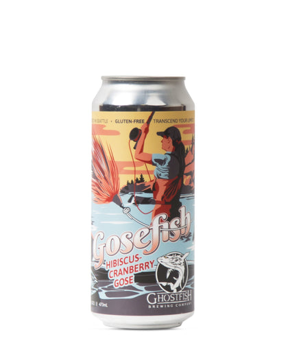 Gosefish Hibiscus-Cranberry Gose - Ghostfish Brewing Company Delivered By TapRm