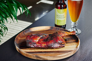 JW's Slow Smoked Barbecue Chicken - Moody Tongue Brewing Company Delivered By TapRm