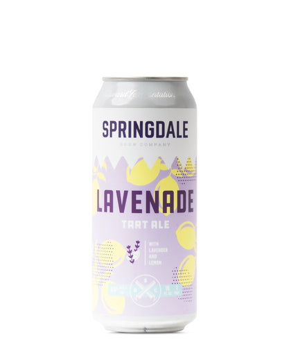 Lavenade - Springdale Beer Co Delivered By TapRm