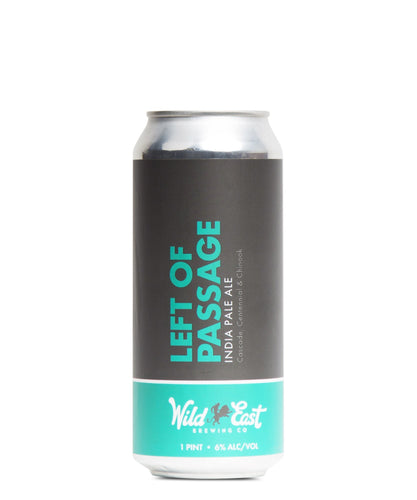 Left of Passage - Wild East Brewing Co Delivered By TapRm