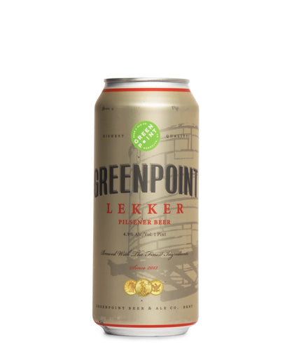 Lekker Pilsner - Greenpoint Beer Ale Co Delivered By TapRm