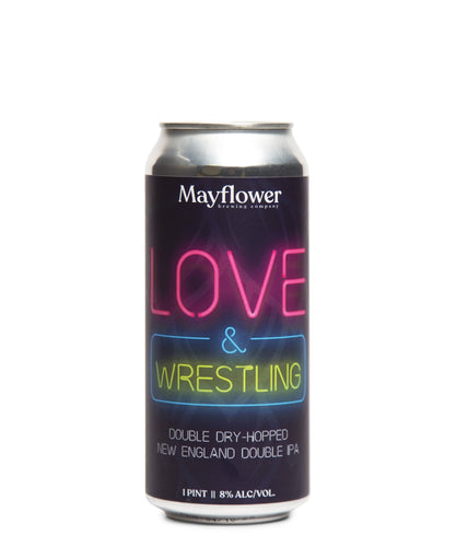 Love and Wrestling DDH NEIPA - Mayflower Brewing Company Delivered By TapRm