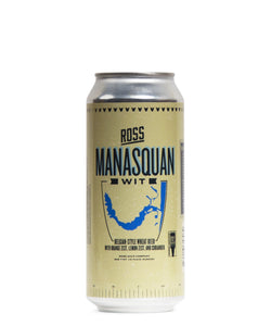 Manasquan Wit - Ross Brewing Co Delivered By TapRm