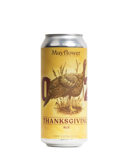 Mayflower Thanksgiving Ale: 2020 - Mayflower Brewing Company Delivered By TapRm