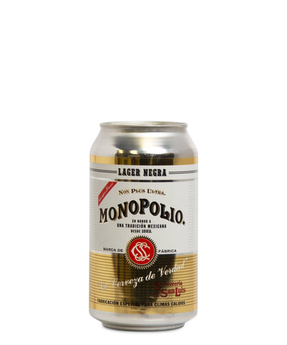 Monopolio Lager Negra - Monopolio Delivered By TapRm