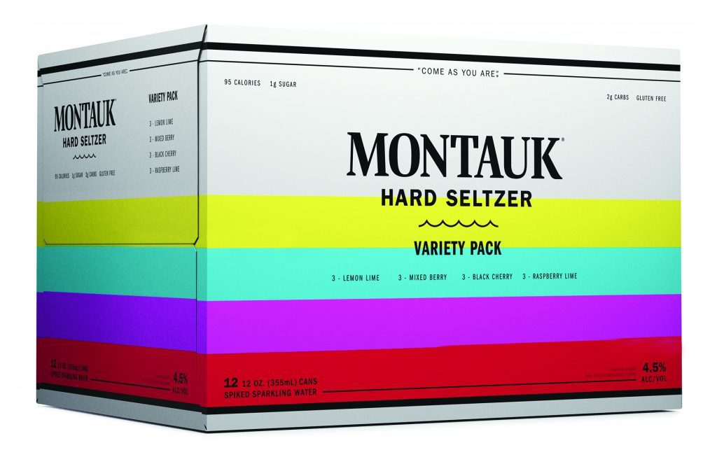 Montauk Variety Hard Seltzer - Montauk Delivered By TapRm