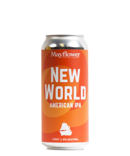 New World IPA - Mayflower Brewing Company Delivered By TapRm