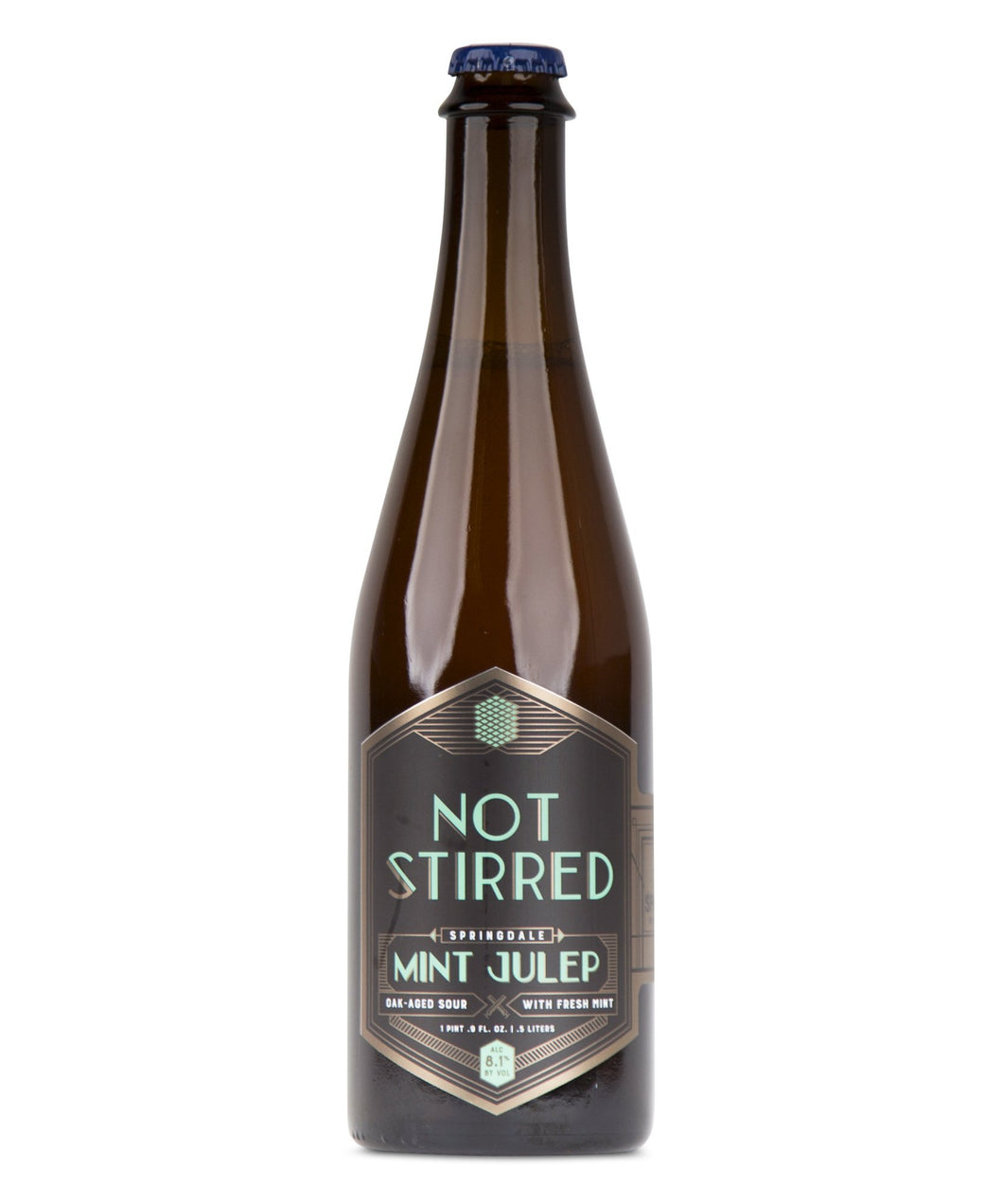 Not Stirred Series: Mint Julep - Springdale Beer Co Delivered By TapRm