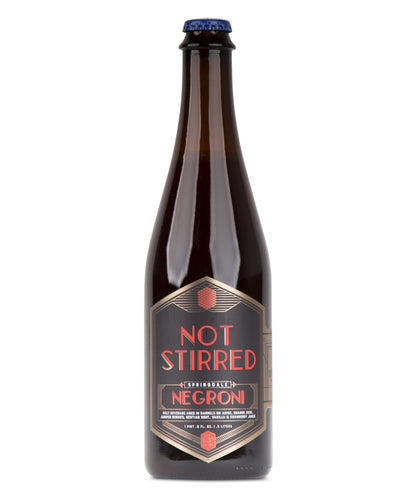 Not Stirred Series: Negroni - Springdale Beer Co Delivered By TapRm