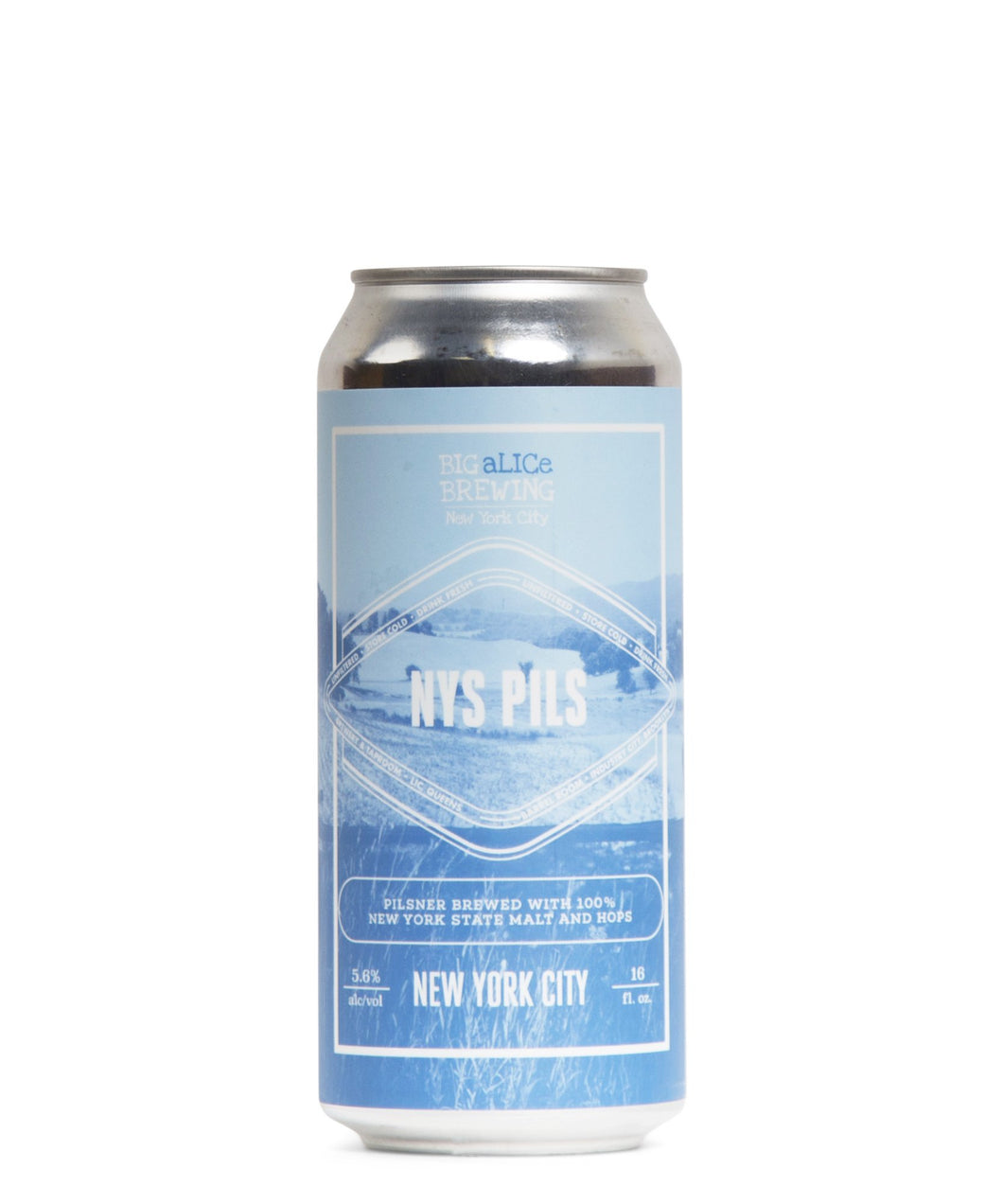 NYS Pils - Big aLICe Brewing Co Delivered By TapRm