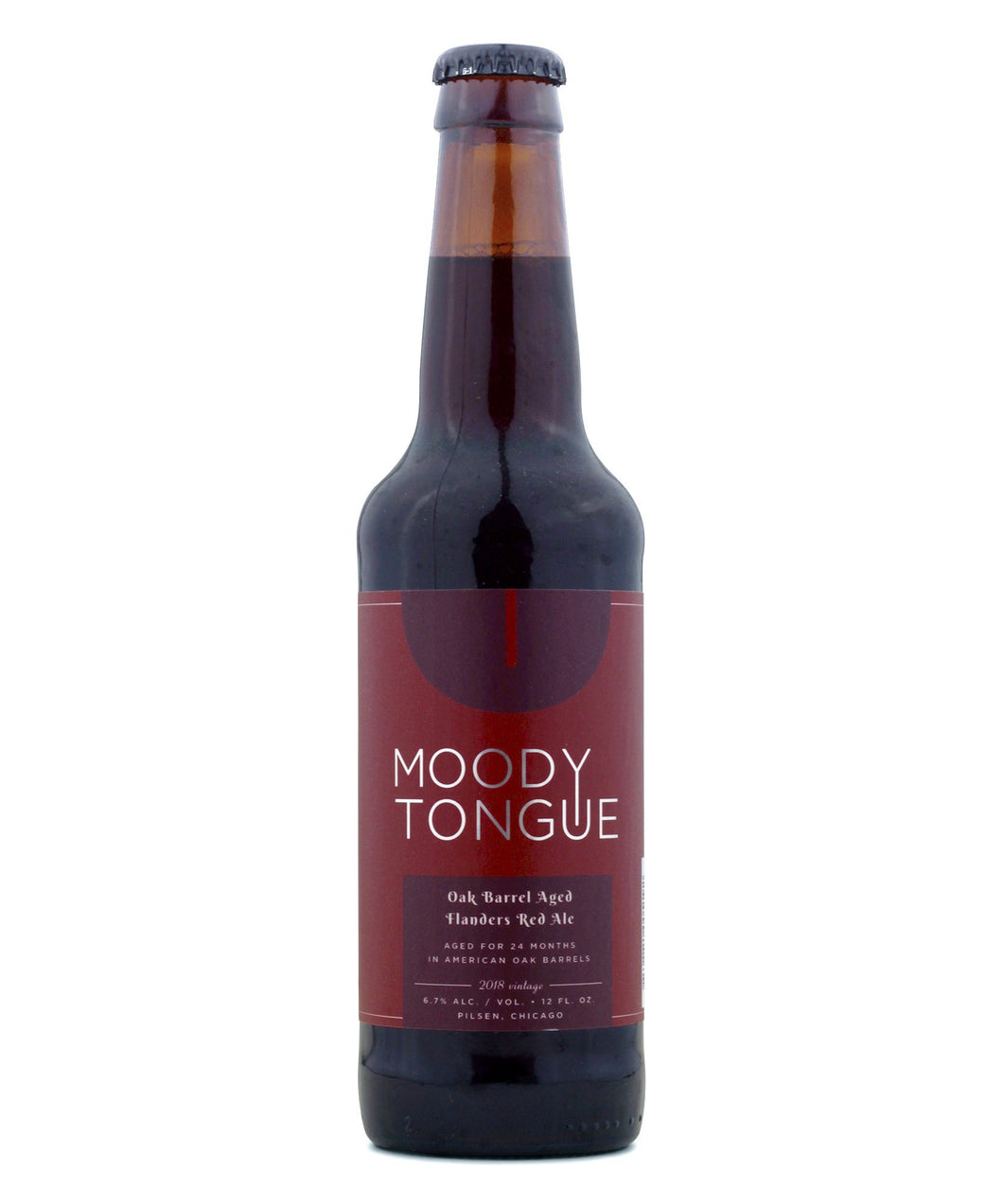 Oak Barrel-Aged Flanders Red Ale - Moody Tongue Brewing Company Delivered By TapRm