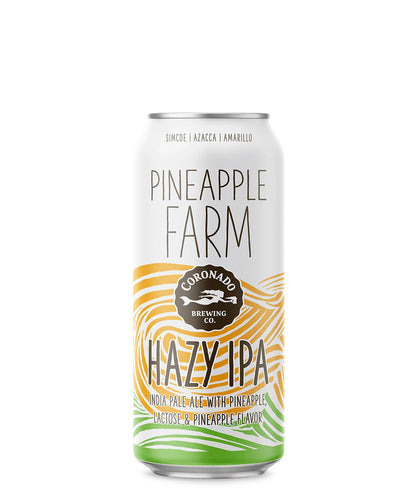 Pineapple Farm Hazy IPA - Coronado Brewing Co Delivered By TapRm