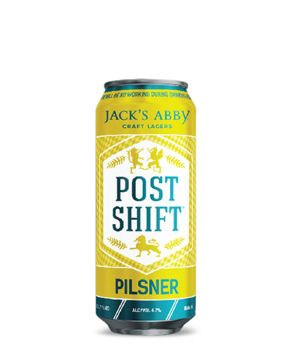 Post Shift Pilsner - Jacks Abby Craft Lagers Delivered By TapRm