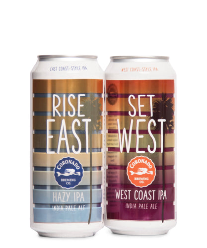 Rise East & Set West Mixed 4pk - Coronado Brewing Company Delivered By TapRm