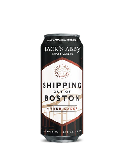 Shipping Out of Boston - Jacks Abby Craft Lagers Delivered By TapRm