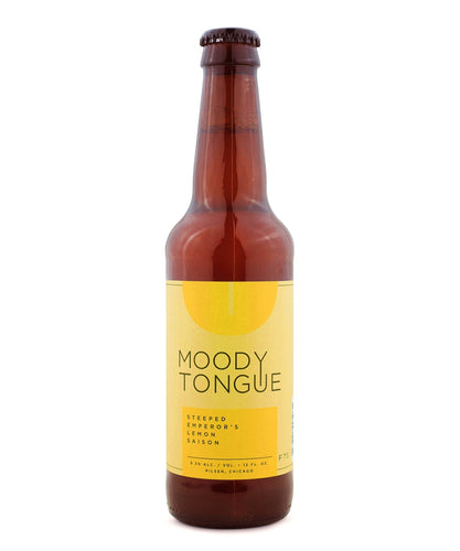Steeped Emperor's Lemon Saison - Moody Tongue Brewing Company Delivered By TapRm
