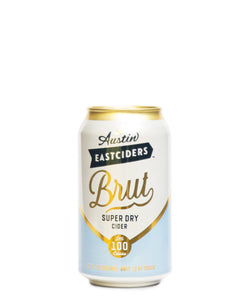Super Dry Brut Cider - Austin Eastciders Delivered By TapRm
