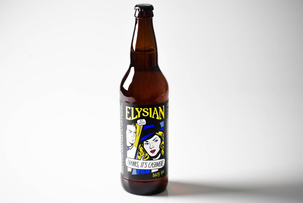 Thanks, It's Cashmere - Elysian Brewing Company Delivered By TapRm