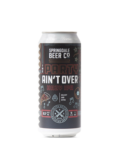 The Party Ain't Over - Springdale Beer Co Delivered By TapRm