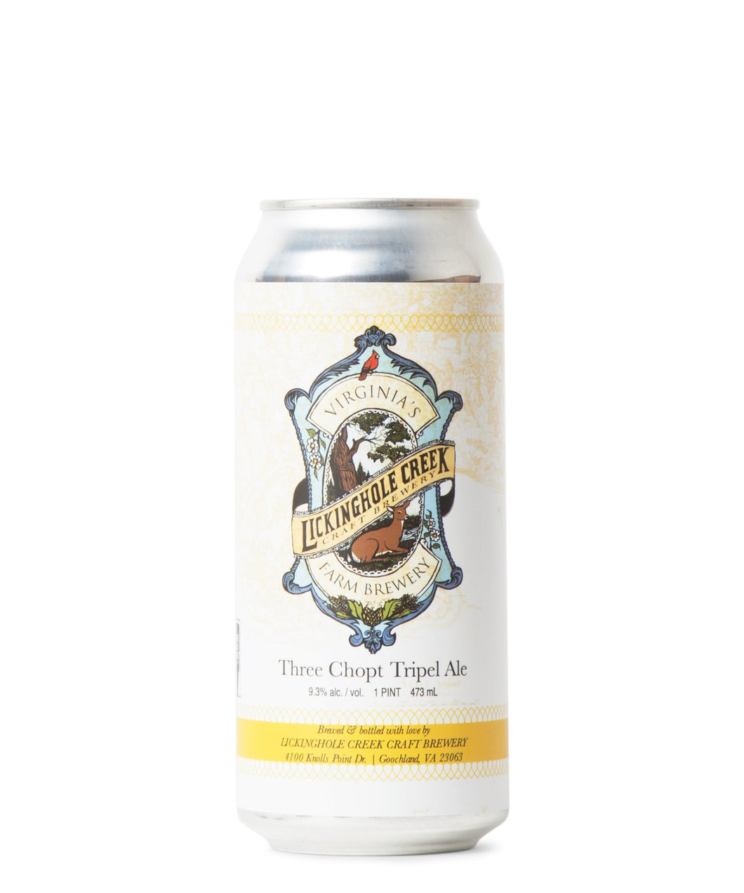 Three Chopt - Lickinghole Creek Craft Brewery Delivered By TapRm