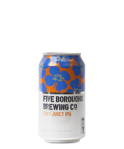 Tiny Juicy IPA - Five Boroughs Brewing Co Delivered By TapRm