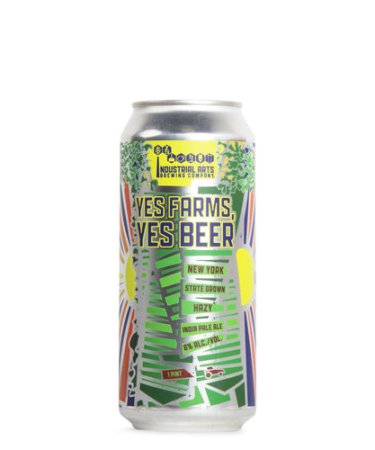 Yes Farms, Yes Beer - Industrial Arts Brewing Company Delivered By TapRm