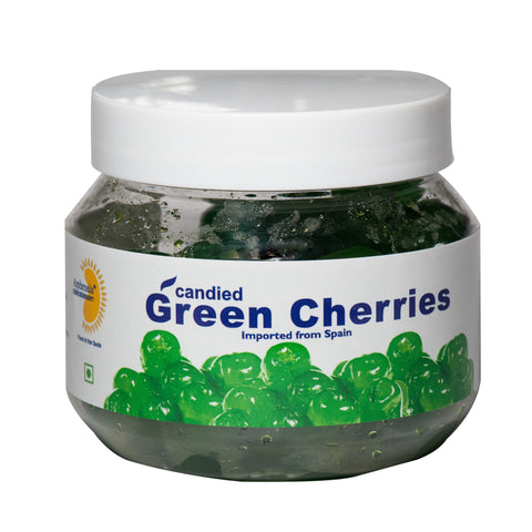 Candied Green Cherries