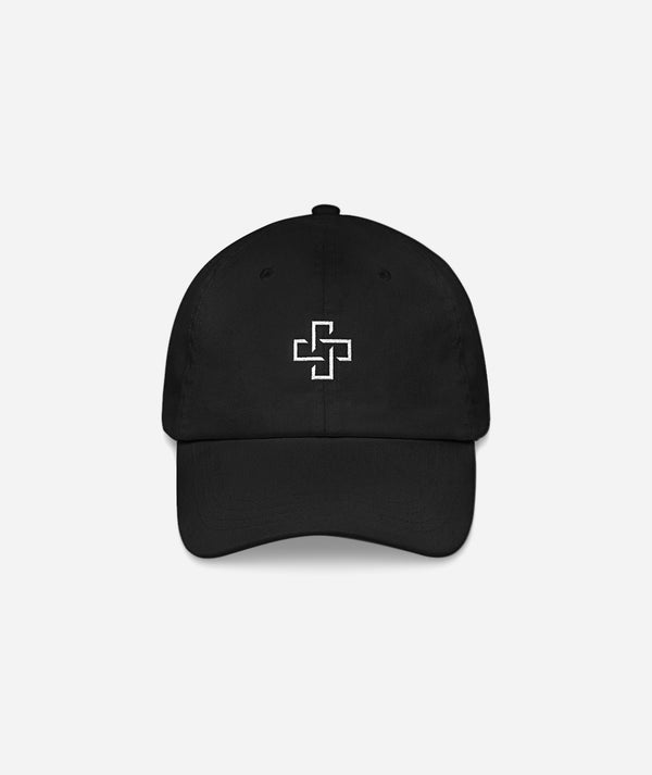 Positiv Logo Hat in Black