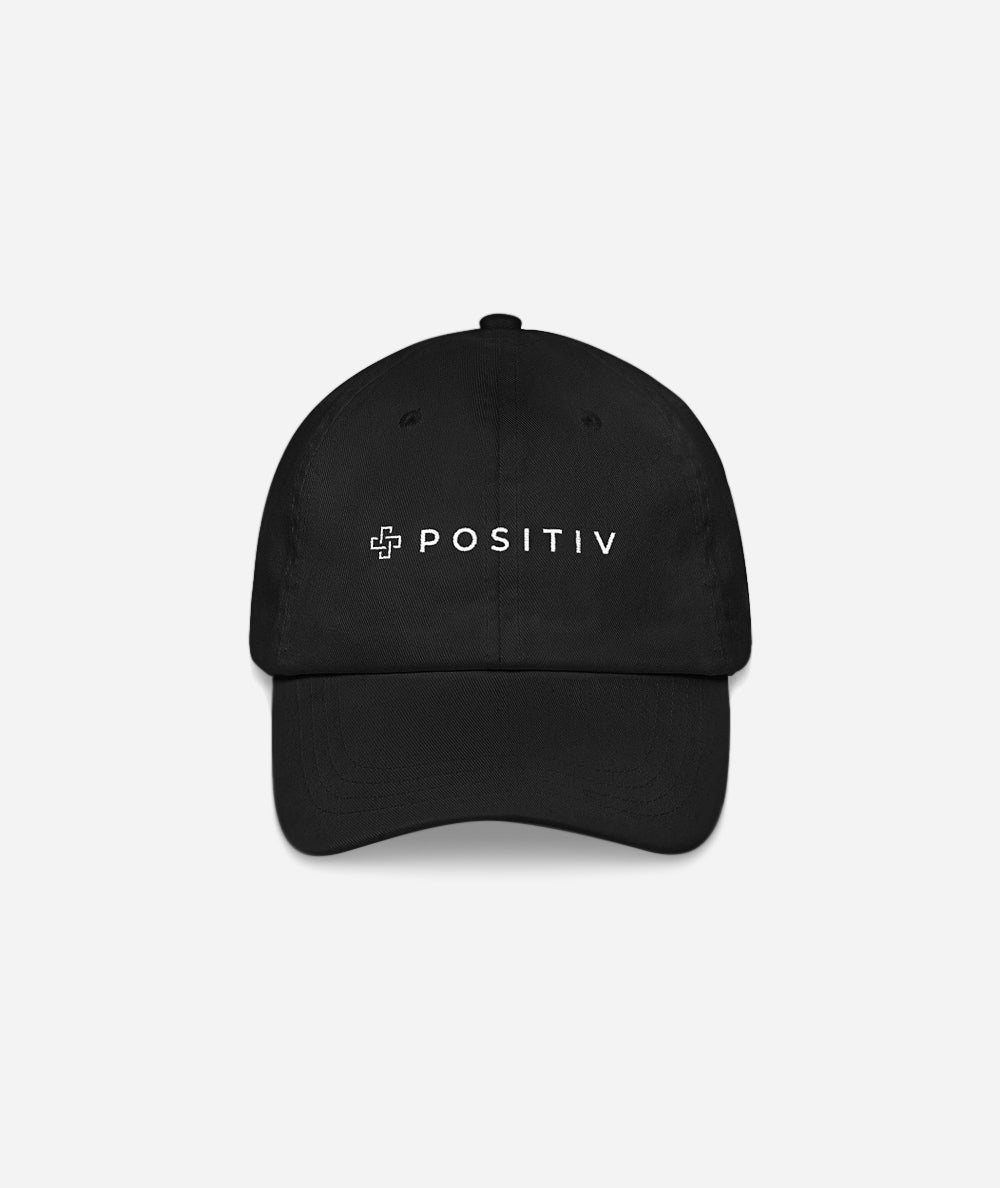 Positiv Crew Slogan Hat | Black