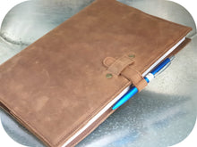 Load image into Gallery viewer, A4 Leather Journal Cover